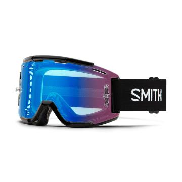 Smith 19 Chromapop Squad MTB Goggles - Black/CP Contrast Rose Flash