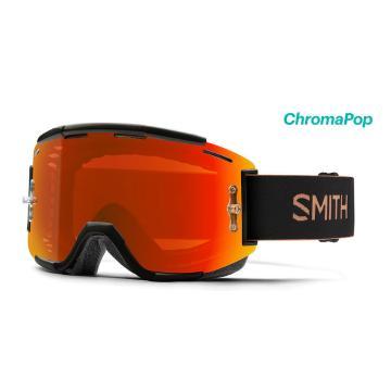 Smith 19 Chromapop Squad MTB Goggles - Gravy/CP Everyday Red Mirrior