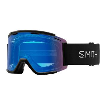 Smith 2019 ChromoPop Squad XL MTB Goggles - Black/CP Contrast Rose Flash
