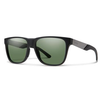 Smith Men's Lowdown Steel - Matte Black Ruthenium/CP PolarGrey Green