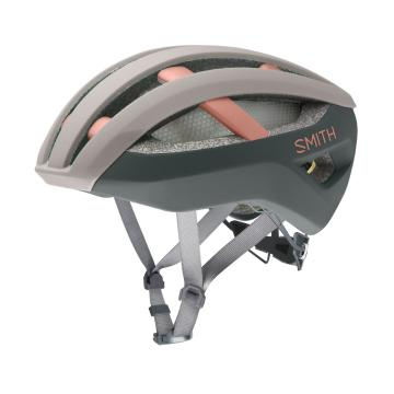 Smith Network MIPS Road Helmet - Matte Tusk/Peat Moss/Champagne