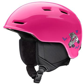 Smith Zoom Jr Snow Helmet - Pink Skates
