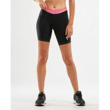 2XU Active 7 Inch Tri Shorts - Blk/Sunset Ombre