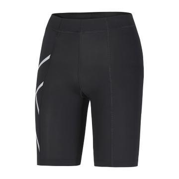 2XU Women's Compression Shorts - Black/Silver
