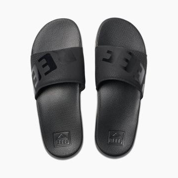 Reef Men's One Slide - All Black