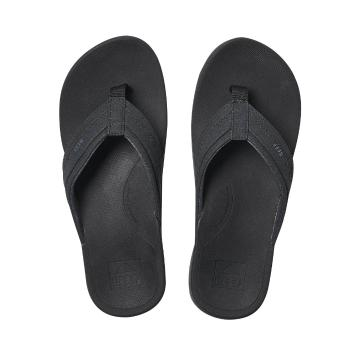 Reef Men's Ortho -Spring Jandals - Black