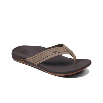 Reef Men's Ortho Spring Jandals - Brown