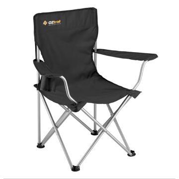 OZtrail Classic Arm Chair - Black