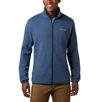 Columbia Men's Town Park Midlayer Full Zip Jacket - Dark Mountain