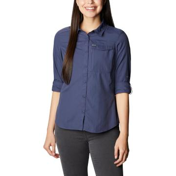 Columbia Women's Silver Ridge 2.0 Long Sleeve Shirt - Nocturnal