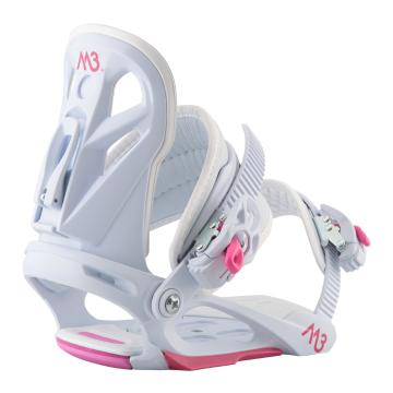 M3 Girl's Solstice Snowboard Bindings
