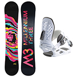M3 2017 Women's Snowboard and Binding Package