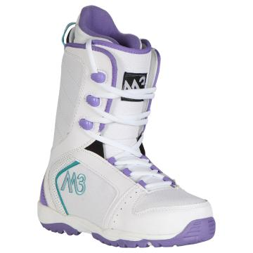 M3 2016 Women's Venus Snowboard Boots - White/Purple