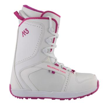 M3 Women's Venus Snowboard Boots - White/Purple