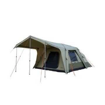 BlackWolf Turbo Plus 300 8 Person Tent - Beige/Khaki