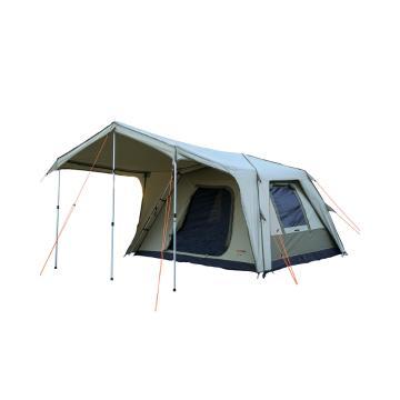 BlackWolf Turbo Lite 300 5 Person Tent - Beige/Khaki