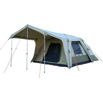 BlackWolf Turbo Lite Plus 300 8 Person Tent - Beige/Khaki