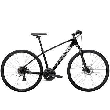 Trek 2021 Dual Sport 1 Urban Bike - Black
