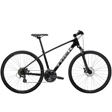 Trek 2021 Dual Sport 1 Urban Bike - Black - Black