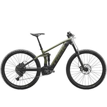Trek 2021 Rail 5 E-Bike SX MTB - Exclusive to Torpedo7 - Matte Olive Grey/Trek Black