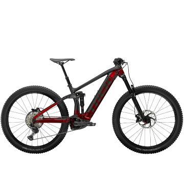 Trek 2021 Rail 7 SLX/XT E-Bike - Trek Black/Radioactive Red