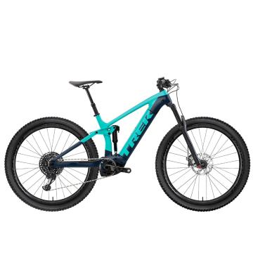 Trek 2021 Rail 7 SLX/XT E-Bike - Dark Aquatic/Trek Black
