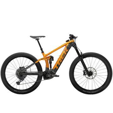 Trek 2021 Rail 9 GX E-Bike - Factory Orange/Lithium Grey