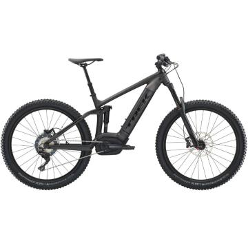 Trek 2019 Powerfly FS7 E-Bike - Matte Dnister Black