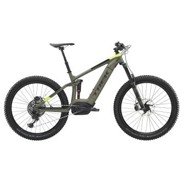 Trek 2019 Powerfly LT9 E-Bike - Matte Olive Grey