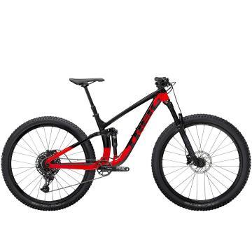 Trek 2021 Fuel EX 7 NX 29 - Trek Black/Radioactive Red