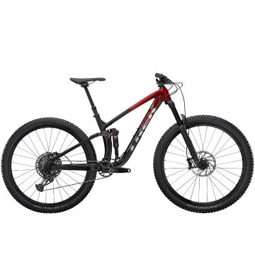 Trek 2021 Fuel EX 8 GX 29 - Rage Red Dnister Black Fade