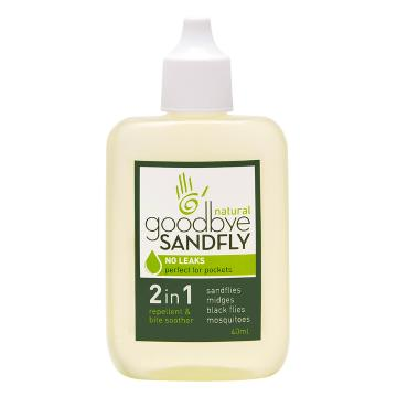 Goodbye Sandfly Natural Bug Repellent + Bite Soother - 40ml