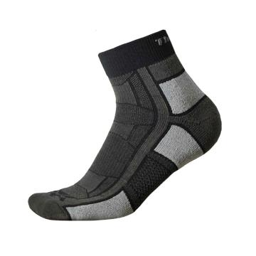 Thorlo OAQU Unisex Outdoor Athlete Socks - Pitch Black