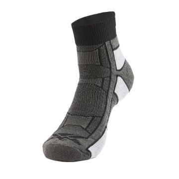 Thorlos OAQU Unisex Outdoor Athlete Socks - Pitch Black