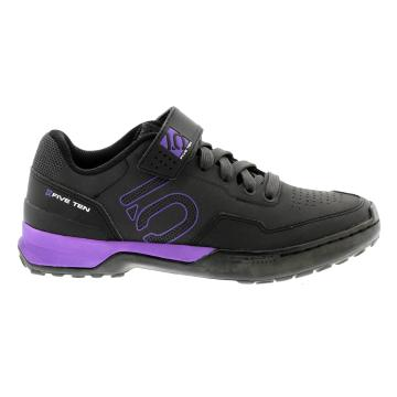 Five Ten Women's Kestrel Lace MTB Shoes - Black/Purple