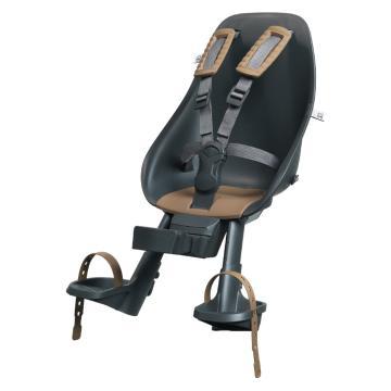Urban iki Front Child Seat with Compact Adapter -  Bincho Black/Kurumi Brown