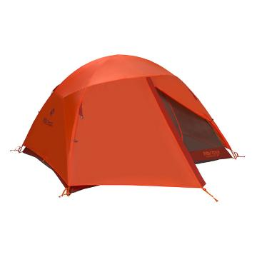 Marmot Catalyst 3-Person Adventure Tent - Rusted Orange/Cinder