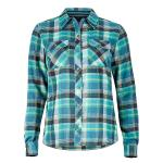 Marmot Women's Bridget Flannel Long Sleeve Button Up Shirt