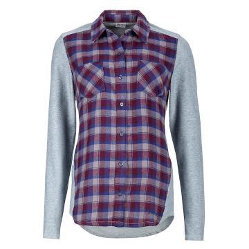 Marmot Women's Lani Flannel Long Sleeve Button Up Shirt