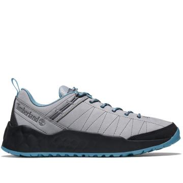 Timberland Men's Solar Wave Leather Low Shoes - Medium Grey