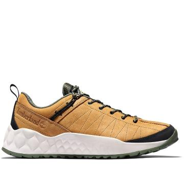 Timberland Men's Solar Wave Leather Low Shoes - Wheat