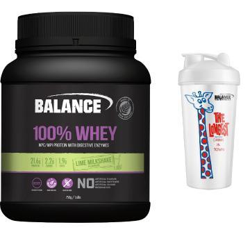 Balance 100% Natual Whey Protein 750g Combo - Lime Milkshake - Lime Milkshake