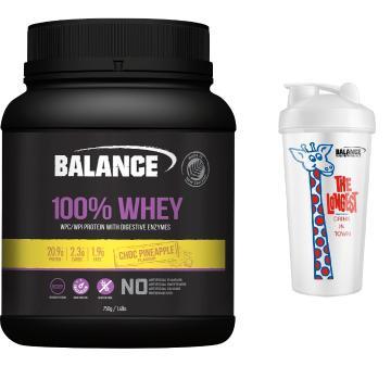 Balance 100% Natural Whey Protein 750g Combo - Choc Pineapple - Choc Pineapple