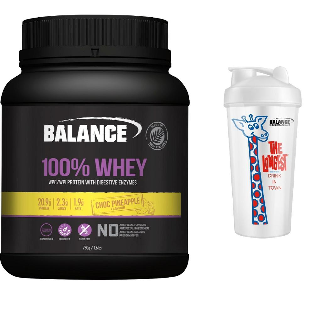 100% Natural Whey Protein 750g Combo - Choc Pineapple