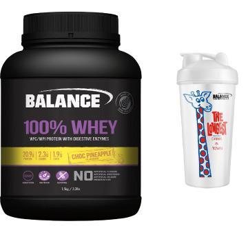 Balance 100% Natural Whey Protein 1.5kg Combo - Choc Pineapple - Choc Pineapple