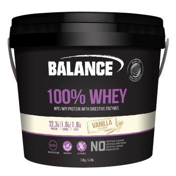 Balance 100% Natural Whey 2.8kg