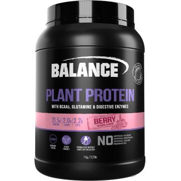 Balance Plant Protein 1kg - Berry