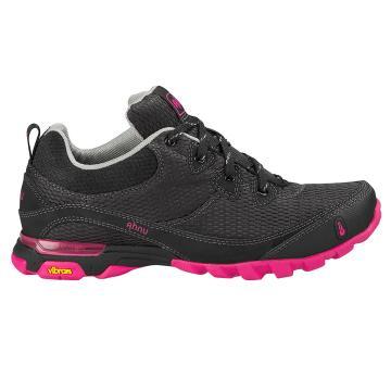Ahnu Women's Sugarpine Air Mesh Shoes - Black/Pink