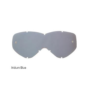 Shot Race Goggle Lens - Irridium - Iridium Blue