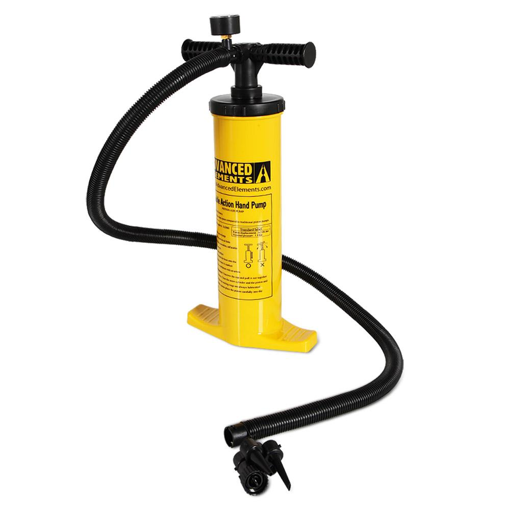 Double Action Hand Pump w/Pressure Gauge
